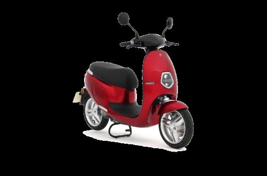 Ecooter E1 - rood